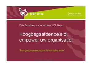 Hoogbegaafdenbeleid: empower uw organisatie!