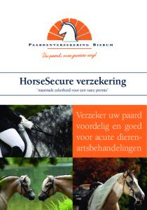 HorseSecure verzekering