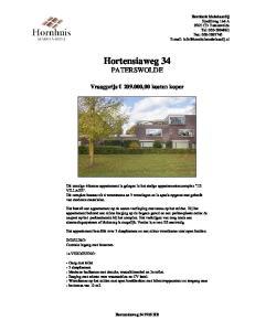 Hortensiaweg 34 PATERSWOLDE