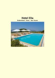 Hotel Elia Griekenland Kreta Ano Vouves
