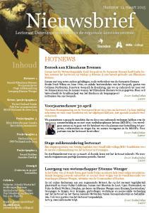 HOTNEWS. Nummer 11, maart Bezoek aan Klimahaus Bremen. Voorjaarsschouw 30 april. Stage subkenniskring lectoraat
