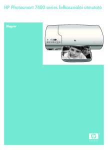 HP Photosmart 7400 series felhasználói útmutató. Magyar
