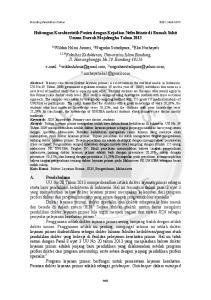 Hubungan Karakteristik Pasien dengan Kejadian Nefrolitiasis di Rumah Sakit Umum Daerah Majalengka Tahun 2013