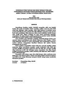 HUBUNGAN PENGETAHUAN DAN SIKAP DENGAN PERILAKU PEMERIKSAAN PAYUDARA SENDIRI (SADARI) PADA MAHASISWA AKBID TINGKAT I STIKes YPIB MAJALENGKA TAHUN 2014