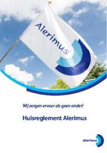 Huisreglement Alerimus