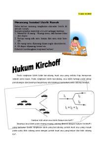 Hukum II Kirchhoff berbunyi : Di dalam sebuah rangkaian tertutup, jumlah aljabar gaya gerak listrik (