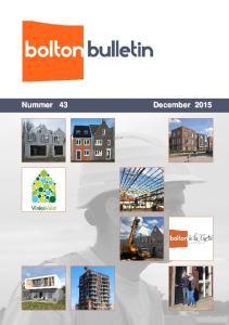 H.W. van der Laan Architekt. Peter Bol, directeur Bolton Bouw. Ben Bouwman, projectleider