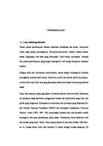 I. PENDAHULUAN. Dalam proses pembelajaran Bahasa Indonesia, setidaknya ada empat komponen