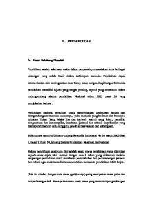 I. PENDAHULUAN. mencerdaskan dan meningkatkan taraf hidup suatu bangsa. Bagi bangsa Indonesia