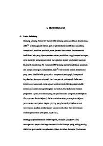 I. PENDAHULUAN. Undang-Undang Nomor 14 Tahun 2005 tentang Guru dan Dosen (Depdiknas,