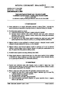 I. Úvodní ustanovení. II. Podání žádosti