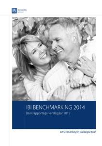 IBI BENCHMARKING 2014