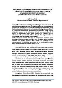 Idris Yanto Niode Fakultas Ekonomi dan Bisnis, Universitas Negeri Gorontalo