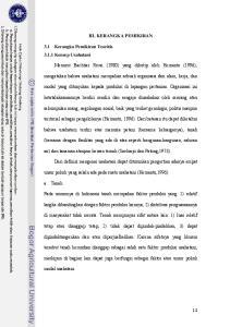 III. KERANGKA PEMIKIRAN. Menurut Bachtiar Rivai (1980) yang dikutip oleh Hernanto (1996),