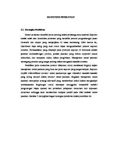 III. METODE PENELITIAN
