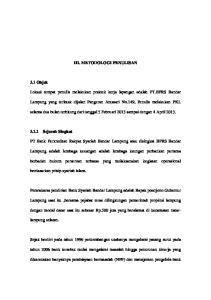 III. METODOLOGI PENULISAN. selama dua bulan terhitung dari tanggal 5 Februari 2013 sampai dengan 4 April 2013