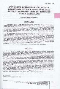 IilNERIA KARYAWAN PADA PT. HANTONO
