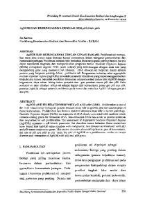 Iin Kurnia Puslitbang Keselamatan Radiasi dan Biomedika NukIir -BAT AN I. PENDAHULUAN. Proliferasi sel merupakan proses