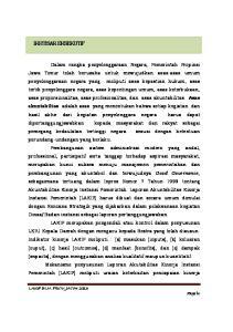 IKHTISAR EKSEKUTIF. LAKIP BLH. PROV. JATIM 2013 Page iv