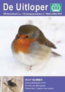 IN DIT NUMMER: IVN Amersfoort e.o. - 19e jaargang nummer 4 - Winter-editie 2010
