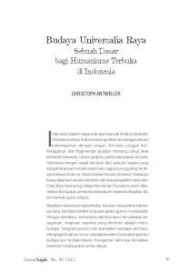 Indonesia adalah negara dengan banyak budaya berbeda