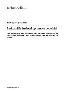 Industriële invloed op innovatiebeleid