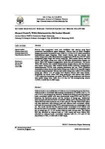 Info Artikel. Indonesian Journal of Chemical Science