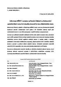Informace MŠMT k procesu vyřizování žádostí o přezkoumání společné části maturitní zkoušky konané formou didaktického testu