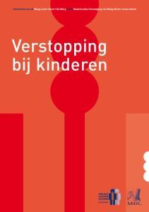 Informatie van de Maag Lever Darm Stichting en de Nederlandse Vereniging van Maag-Darm-Leverartsen. Verstopping bij kinderen