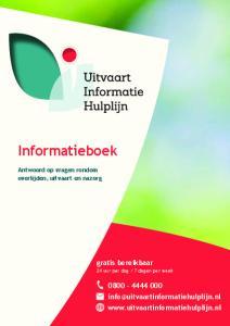 Informatieboek. gratis bereikbaar