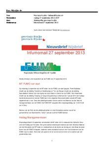 Infumomail 27 september 2013
