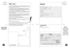 Inhoud. Wist u dat... Volgende Spike: Juni 2013 Inleveren kopij vóór 24 mei Colofon