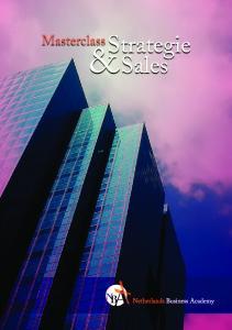 Inhoudsopgave. Inleiding 4. Programma 5. Module Strategie & Beleid 5. Module Sales & Account Management 6. Rooster 7. Docenten 7. Opleidingskosten 8