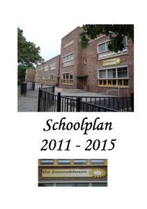 Inhoudsopgave Schoolplan