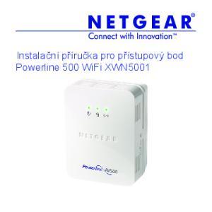 Instalační příručka pro přístupový bod Powerline 500 WiFi XWN5001