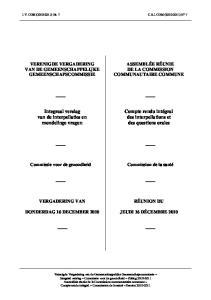 Integraal verslag van de interpellaties en mondelinge vragen. Compte rendu intégral des interpellations et des questions orales