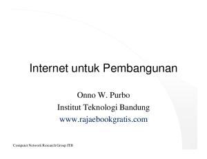 Internet untuk Pembangunan