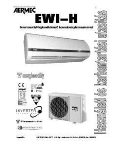 Inverteres fali légkondiciónáló berendezés plazmaszrvel
