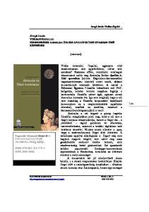 ISBN ISSN Szrogh István VITÁBAN HEGELLEL MEGJEGYZÉSEK ANDREJKA ZOLTÁN APOLLÓN ÉS DIKÉ NYOMÁBAN CÍMŰ KÖNYVÉHEZ