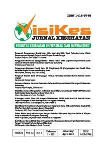 isikes JURNAL KESEHATAN