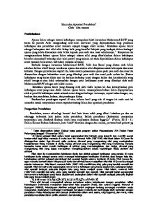 Islam dan Apresiasi Peradaban * Oleh : Abu mansur