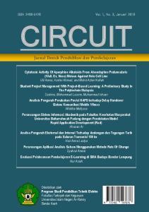ISSN Vol. 1, No. 2, Januari 2016 CIRCUIT