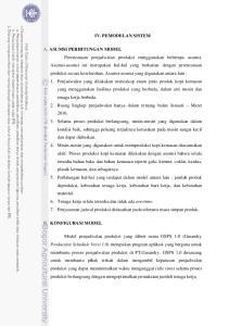 IV. PEMODELAN SISTEM B. KONFIGURASI MODEL