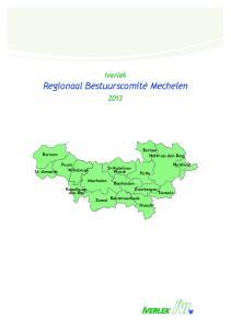 Iverlek Regionaal Bestuurscomité Mechelen