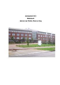 Jaardocument Malderburch. Centrum voor Welzijn, Wonen en Zorg