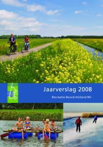 Jaarverslag Recreatie Noord-Holland NV