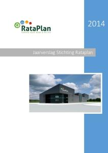 Jaarverslag Stichting Rataplan