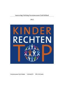 Jaarverslag Stichting Verzetsmuseum Zuid-Holland