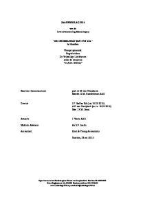 JAARVERSLAG van de Levensverzekering Maatschappij. DE ONDERLINGE VAN 1719 U.A. te Haarlem