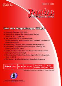 Jantra Vol. V No. 10 Hal ISSN